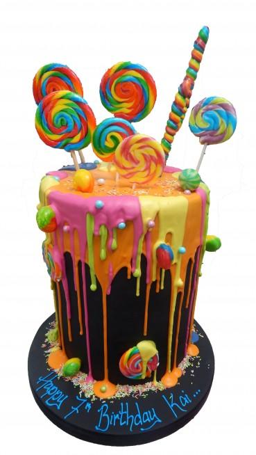 Sweet Heaven birthday cake